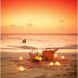 Romantic Beach Picnic